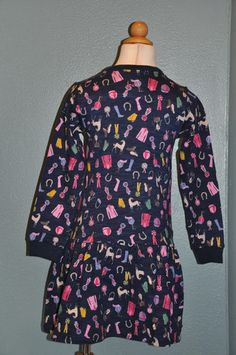 Picture of Navy Pony Dress
