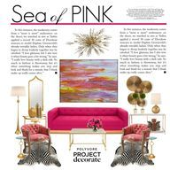 """Sea of Pink"" by red"