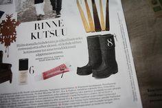 Töysän kenkätehtaan Arctips-saappaat Annassa helmikuussa 2013. www.arctips.fi