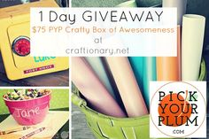 $75 Crafts box #GIVEAWAY... ends 3/22.