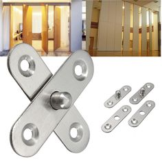 L Hardware Stainless Steel 360 Degree Rotating Door Pivot Hinge Tone Rotary & Garden Steel Cupboard, Cupboard Doors, Furniture Hinges, Cheap Furniture, Furniture Sets, Room Partition Designs, Sliding Barn Door Hardware, Sliding Door, Steel Doors