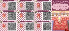 Animal Crossing Qr Codes Floor Wood Grey
