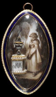 Locket   Locket Date: 1775-1800 (made) Place: England