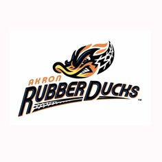 akron rubberducks | New Akron Rubber Ducks Logo Credit: Akron Rubber Ducks