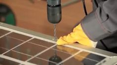 como fazer um painel solar com o kit de energia solar residencial em portugues - YouTube