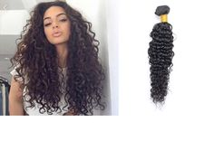 Brazilian curl wave hair extensions, 3 bundles , natural black color, DHL Express free shipping.http://www.amazon.com/dp/B019RHA0I8