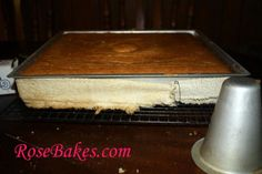 Large Level Cake with Wet Towels