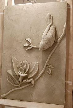 Lofty plaster wall art best interior sculptures mstor info perfect ideas images on incredible decoration uk is one of images from plaster wall art. Find more plaster wall art images like this one in this gallery Mounting idea for clay humming bird 275 bes Sculpture Clay, Ceramic Sculpture, Clay Ceramics, Sculpture Art, Clay Wall Art, Mural Art, Plaster Sculpture, Plaster Wall Art