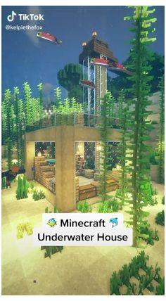 Video Minecraft, Minecraft House Plans, Minecraft Mansion, Easy Minecraft Houses, Minecraft House Tutorials, Minecraft House Designs, Minecraft Decorations, Minecraft Bedroom, Minecraft Blueprints