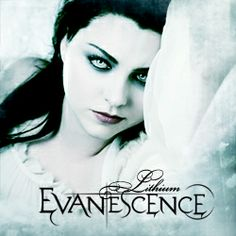 Amy Lee of Evanescence (pictured on the cover for Lithium single)