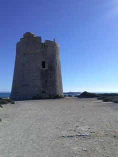 Salinas tower. The best views to Formentera.
