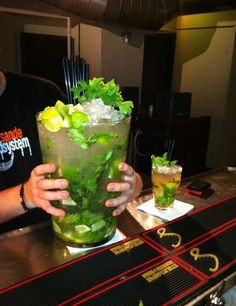 Weekend-sized mojito...sometimes you just need a little pick-me-up