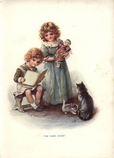 All the illustrations are part of the Father Tuck Annuals , from Raphael Tuck & Sons. ...