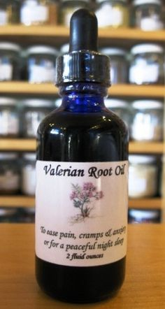 Fresh Valerian Root Infusions
