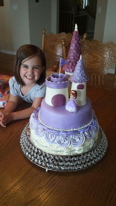 Our Family Creations: Sofia the First Cake