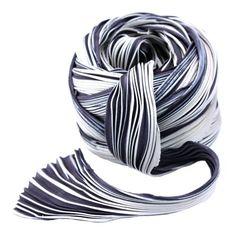Luscious hand dyed silk Shibori ribbon.  Color Cool Ash.  $15.75 per yard.