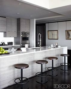 neutral tonal kitchen