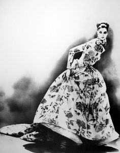 Night Bloom Anneliese Seubert, Ball Gown By Christian Dior Haute Couture, Paris, 1996