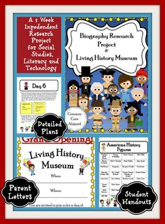 A 5-Week, 168 page common core Aligned Biography Research Project.  This is an authentic research project and will walk you through the steps of guiding your students to taking notes and writing about the topic in their own words.  This unit is designed for grades 3-5, but can easily be adapted for different grade levels and differentiated for all levels of learners. Gradually hand over responsibility to your students as they research a figure of their choice!