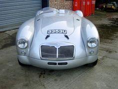 ClassicCarHunter » Blog Archive » Silver rocket: 1958 MGA '55 Le Mans replica