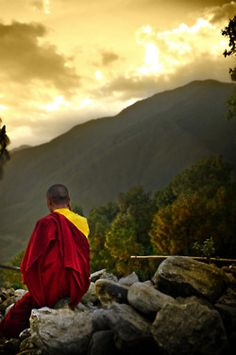 Tibet-stunning place to explore?   Red, yellow, gold, grey