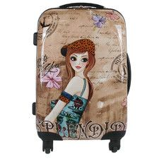 "Nicole Lee Tina 21"" Rolling Suitcase"
