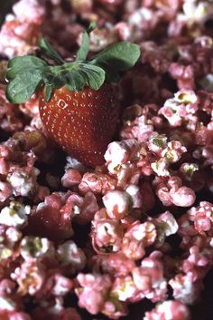 Strawberries and Cream Popcorn...hmmm, since I love popcorn, I might have to try this and look for a variation of popcorn recipes :)