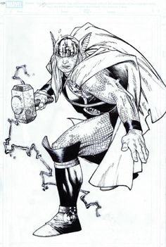 Thor by Olivier Coipel *