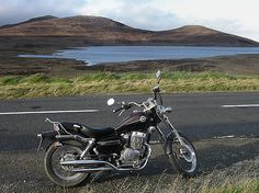 Honda Rebel. I have a 1985. Yes, I drive/ride it all by myself!