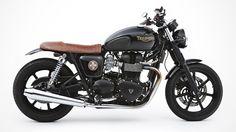 Custom Triumph Bonneville by the Australian workshop Ellaspede.