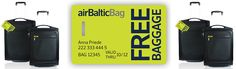 AirBaltic created an interesting retail and service offering that promotes a new travel bag with an added benefit of no service fee for checking the luggage. A pretty innovative way of offsetting the cost of checking luggage while maintaining a revenue stream.