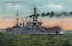USS North Carolina (ACR-12)
