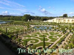 The Little White House On The Seaside: Versailles Gardens