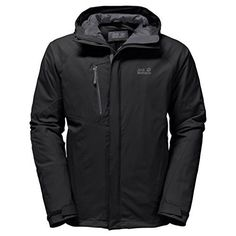 Jack Wolfskin Men's Troposphere Jacket  Winter hiking jacketVery waterproof, windproof, very breathableEnvironmentally friendly, fluorocarbon-free (pfc) durable water-repellent (DWR) treatment  http://outdoorgear.mobi/product/jack-wolfskin-mens-troposphere-jacket/