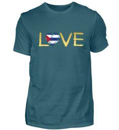 Liebe Wurzeln Heimat Land herkunft Stolz Kuba T-Shirt T Shirt Designs, Basic Shirts, Mens Tops, Leiden, Monster, Frankenstein, Afghanistan, Form, Holland