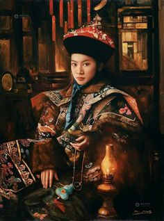 Di Li Feng  - China painter