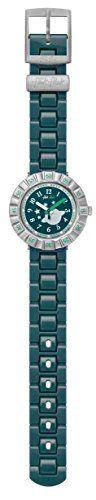 Flik Flak CA Tourne Green Dial Plastic Strap Boy's Watch ZFCSP064 | MyPointSaver