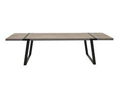 Table à manger GIGANT bois de chêne, naturel blanchi - L290 | Westwing Home & Living