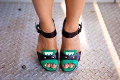 Marni heels. Lani Nguyen / Sugar Rock Catwalk    photo by James Rand