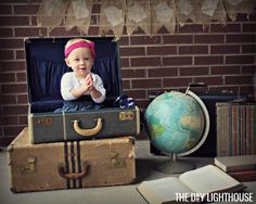 Picture this: adorable photos without breaking the bank or getting professional portraits taken. DIY back-to-school or baby photo shoot using these 6 tips.
