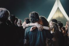 alina trifan: two strangers at a Slowdive concert