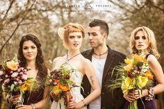 #Dagnez #wedding #dress Sofia II #autumn #lovely #flowers