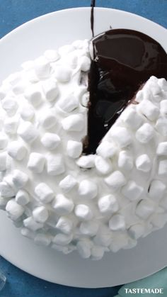 Fun Baking Recipes, Sweet Recipes, Cake Recipes, Dessert Recipes, Chocolate Ganache, Chocolate Cake, Igloo Cake, Keks Dessert, Chocolate Recipes