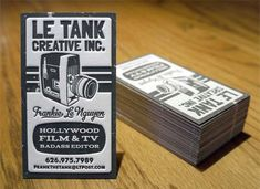 Cartões de visita super criativos!