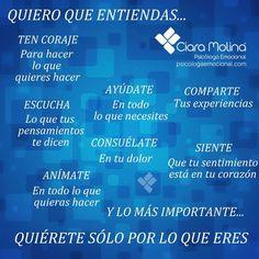 LA VIDA...  (((Sesiones y Cursos Online www.ciaramolina.com #psicologia #emociones #salud)))
