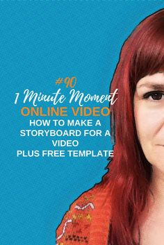 How To Make A Storyboard For A Video And Why You Should Bother (Includes Free Storyboard Template) – 1 Minute Moment How To Use Facebook, Facebook Video, Storyboard Template, What Is Work, Facebook Features, Business Writing, Content Marketing Strategy, Facebook Marketing, Media Marketing