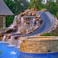 I wish I had this for my pool - very cool!