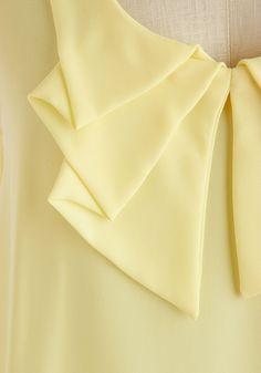Collar - Sheer Genius Top   Mod Retro Vintage Short Sleeve Shirts   http://ModCloth.com