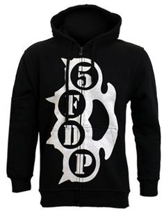 Five Finger Death Punch Knuckle Duster Black Hoodie £34.99 (grindstore.com) http://www.grindstore.com/products/Five-Finger-Death-Punch-Knuckle-Duster-Black-Hoodie_30648.html#