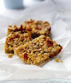 Cheese Tomato and Oat Flapjacks